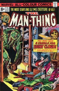 Cover Thumbnail for Man-Thing (Marvel, 1974 series) #15 [British]