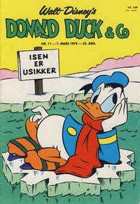 Cover Thumbnail for Donald Duck & Co (Hjemmet / Egmont, 1948 series) #11/1972
