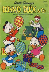 Cover Thumbnail for Donald Duck & Co (Hjemmet / Egmont, 1948 series) #13/1972