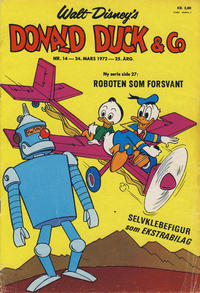 Cover Thumbnail for Donald Duck & Co (Hjemmet / Egmont, 1948 series) #14/1972
