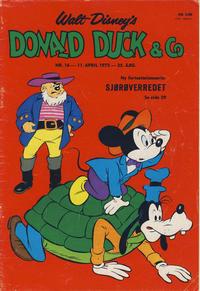 Cover Thumbnail for Donald Duck & Co (Hjemmet / Egmont, 1948 series) #16/1972