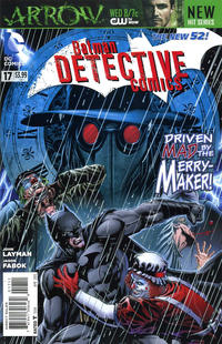 Cover Thumbnail for Detective Comics (DC, 2011 series) #17