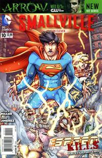 Cover Thumbnail for Smallville Season 11 (DC, 2012 series) #10