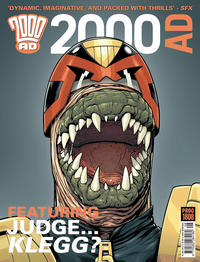 Cover Thumbnail for 2000 AD (Rebellion, 2001 series) #1808