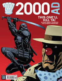 Cover Thumbnail for 2000 AD (Rebellion, 2001 series) #1809