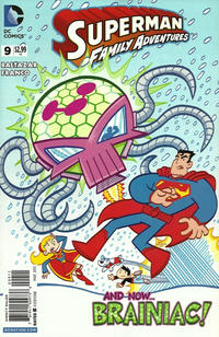 Cover Thumbnail for Superman Family Adventures (DC, 2012 series) #9 [Direct Sales]