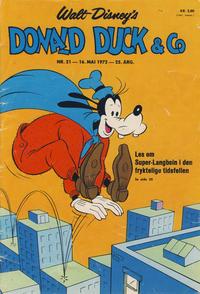 Cover Thumbnail for Donald Duck & Co (Hjemmet / Egmont, 1948 series) #21/1972