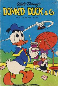Cover Thumbnail for Donald Duck & Co (Hjemmet / Egmont, 1948 series) #23/1972