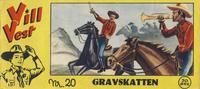 Cover Thumbnail for Vill Vest (Serieforlaget / Se-Bladene / Stabenfeldt, 1953 series) #20/1955