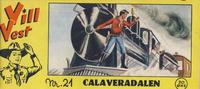 Cover Thumbnail for Vill Vest (Serieforlaget / Se-Bladene / Stabenfeldt, 1953 series) #21/1955