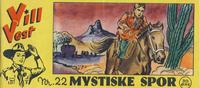 Cover Thumbnail for Vill Vest (Serieforlaget / Se-Bladene / Stabenfeldt, 1953 series) #22/1955