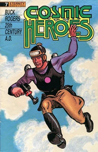 Cover Thumbnail for Cosmic Heroes (Malibu, 1988 series) #7