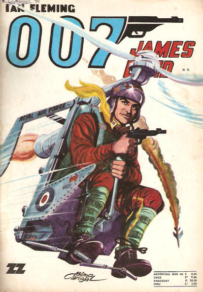 Cover for 007 James Bond (Zig-Zag, 1968 series) #51