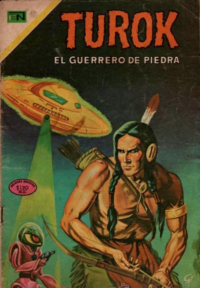 Cover for Turok (Editorial Novaro, 1969 series) #7