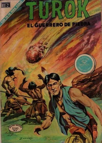 Cover for Turok (Editorial Novaro, 1969 series) #22