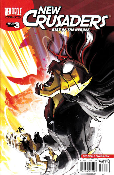 Cover for New Crusaders (Archie, 2012 series) #3