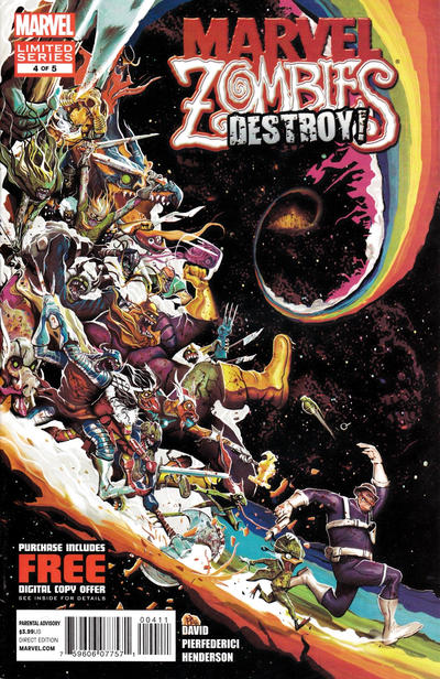 Cover for Marvel Zombies Destroy (Marvel, 2012 series) #4