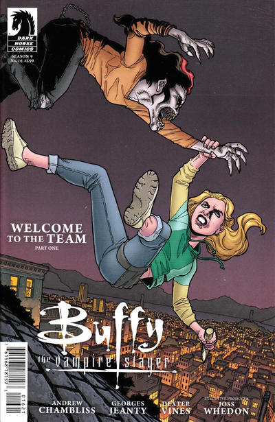 Cover for Buffy the Vampire Slayer Season 9 (Dark Horse, 2011 series) #16 [Georges Jeanty Alternate Cover]