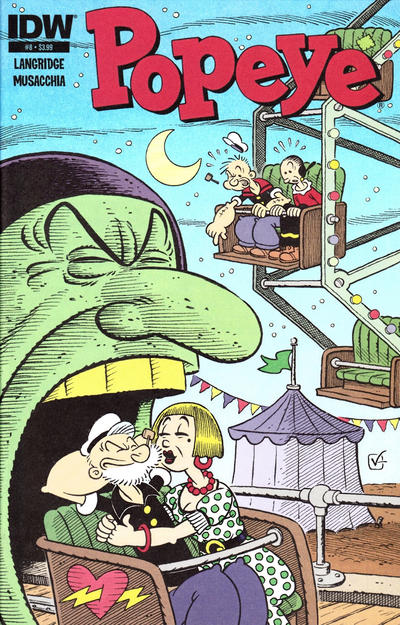 Cover for Popeye (IDW, 2012 series) #8