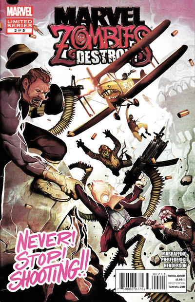 Cover for Marvel Zombies Destroy (Marvel, 2012 series) #2