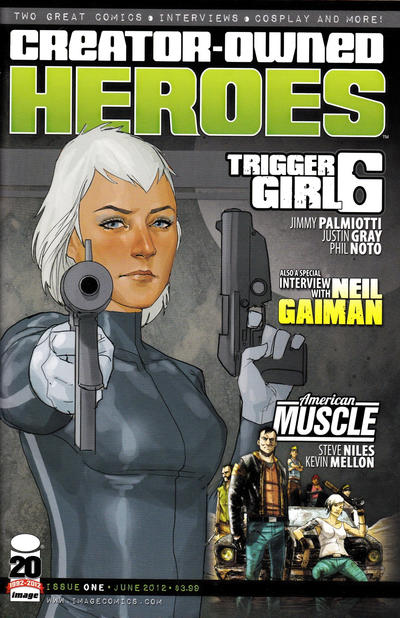 Cover for Creator-Owned Heroes (Image, 2012 series) #1 [Cover C]