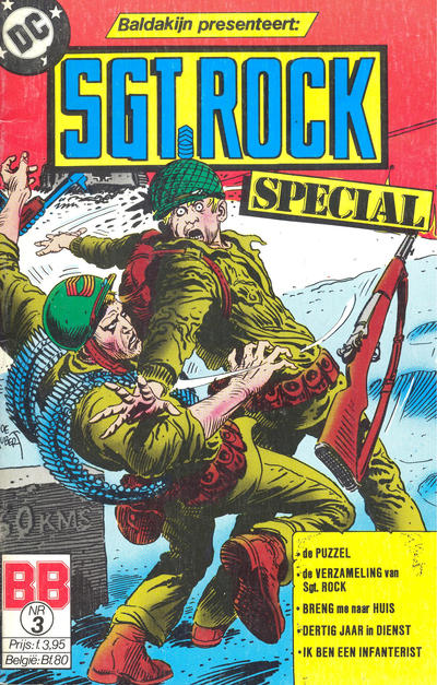 Cover for Sgt Rock Special (Juniorpress, 1984 series) #3
