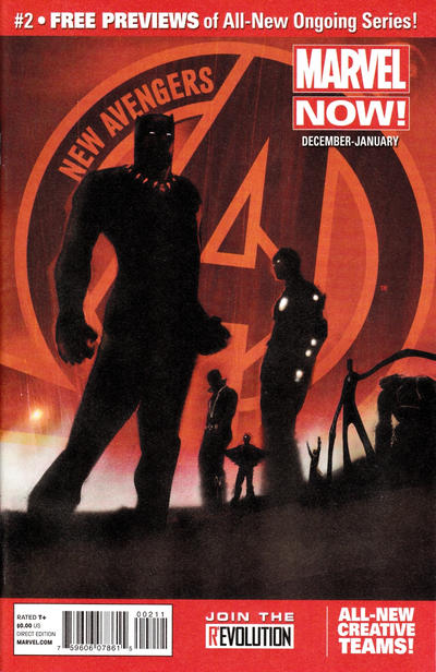 Cover for Marvel Now! Previews (Marvel, 2012 series) #2