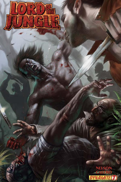 Cover for Lord of the Jungle (Dynamite Entertainment, 2012 series) #7 [Cover A]
