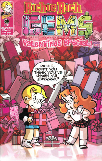 Cover for Richie Rich Gems Valentines Special (Ape Entertainment, 2012 series)