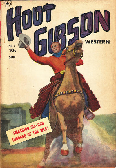Cover for Hoot Gibson (Superior, 1950 ? series) #6