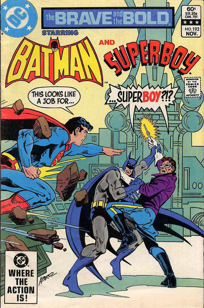 Cover for The Brave and the Bold (DC, 1955 series) #192 [Newsstand Edition]