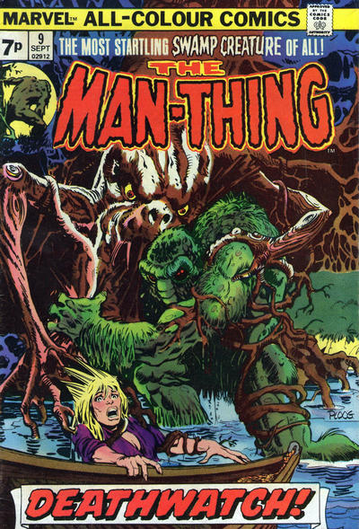 Cover for Man-Thing (Marvel, 1974 series) #9 [Regular]
