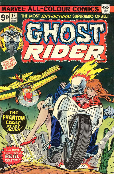 Cover for Ghost Rider (Marvel, 1973 series) #12 [Regular Edition]