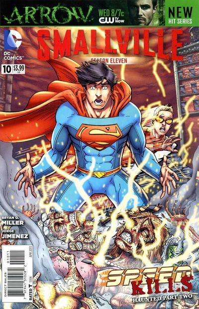 Cover for Smallville Season 11 (DC, 2012 series) #10