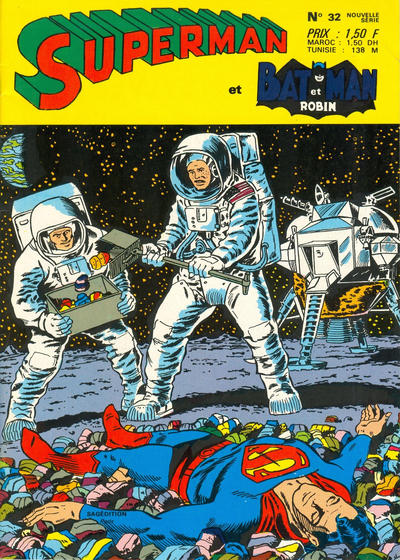 Cover for Superman et Batman et Robin (Sage - Sagédition, 1969 series) #32