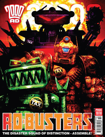 Cover for 2000 AD (Rebellion, 2001 series) #1810