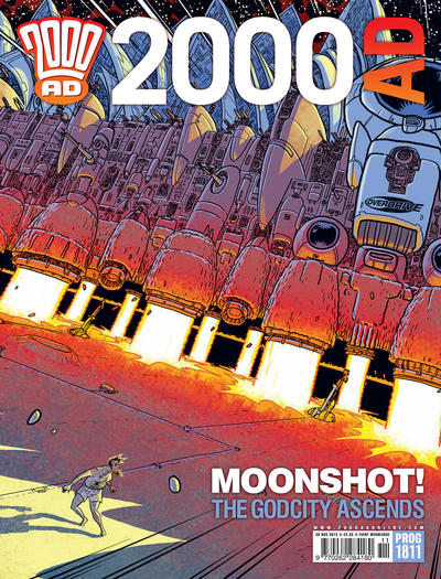 Cover for 2000 AD (Rebellion, 2001 series) #1811