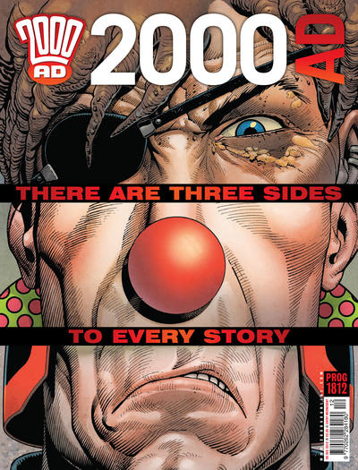 Cover for 2000 AD (Rebellion, 2001 series) #1812