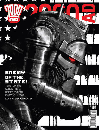 Cover for 2000 AD (Rebellion, 2001 series) #1807