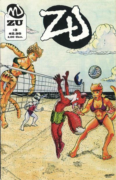 Cover for ZU (MU Press, 1995 series) #3