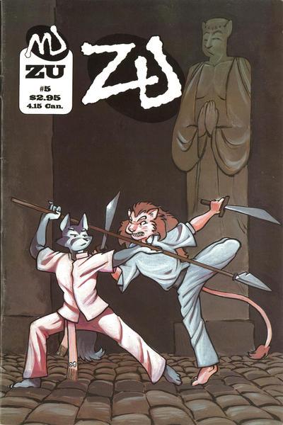 Cover for ZU (MU Press, 1995 series) #5