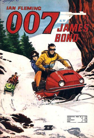 Cover for 007 James Bond (Zig-Zag, 1968 series) #53
