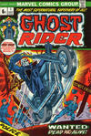 Cover Thumbnail for Ghost Rider (1973 series) #1 [British Price Variant]