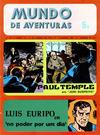 Cover for Mundo de Aventuras (Agência Portuguesa de Revistas, 1973 series) #16