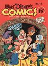 Cover for Walt Disney's Comics (W. G. Publications; Wogan Publications, 1946 series) #18