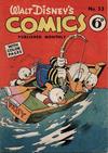 Cover for Walt Disney's Comics (W. G. Publications; Wogan Publications, 1946 series) #33