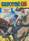 Cover for Sabotør Q5 (Serieforlaget / Se-Bladene / Stabenfeldt, 1971 series) #7/1975