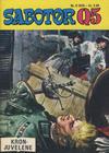 Cover for Sabotør Q5 (Serieforlaget / Se-Bladene / Stabenfeldt, 1971 series) #8/1975