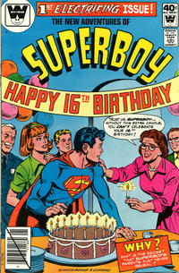 Cover Thumbnail for The New Adventures of Superboy (DC, 1980 series) #1 [Whitman]