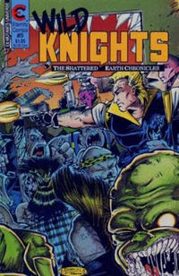 Cover Thumbnail for Wild Knights (Malibu, 1989 series) #5